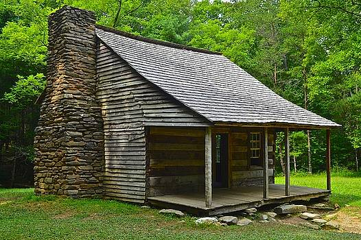 Frozen in Time Fine Art Photography - Cades Cove Cabin