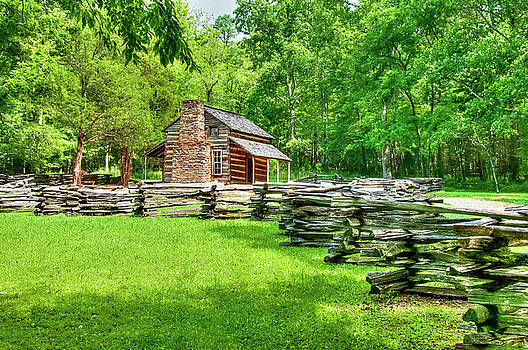 Cades Cove Cabin by Roger McBee