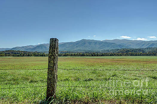 Cades Cove Pasture by Patrick Shupert
