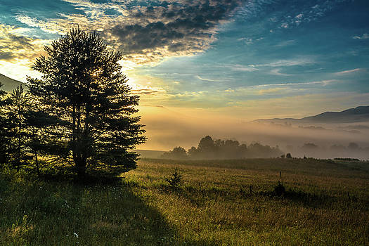 Cades Cove Summer Morning by Eric Albright