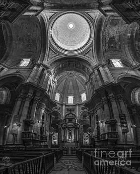 Cadiz Cathedral Black and White Cadiz Spain by Pablo Avanzini