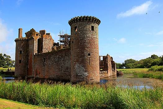 Caerlaverock castle, Scotland by Francesco Scali