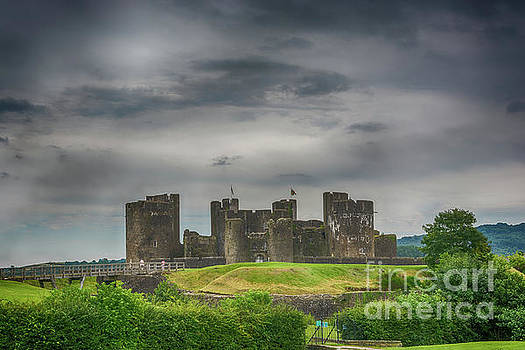 Steve Purnell - Caerphilly Castle East View 3
