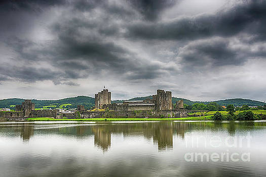 Steve Purnell - Caerphilly Castle North View 1