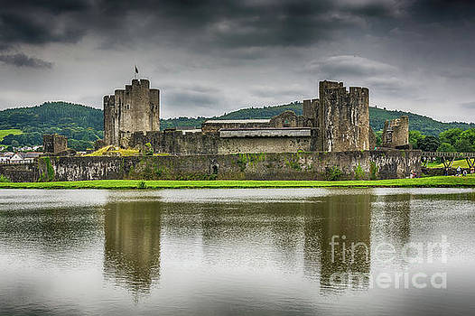 Steve Purnell - Caerphilly Castle North View 2