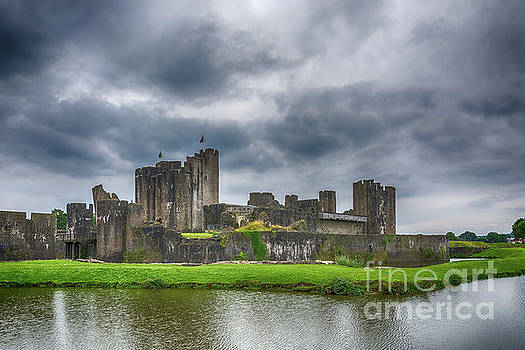 Steve Purnell - Caerphilly Castle North View 3