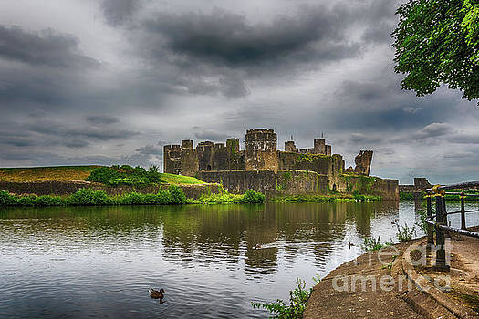 Steve Purnell - Caerphilly Castle South East View 2