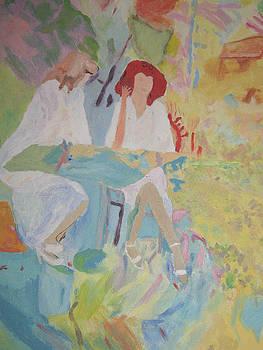 Cafe' abstraction by Thomasina Marks