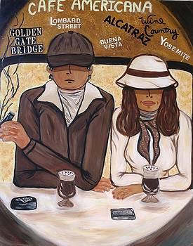 Cafe Americana - San Francisco  by Victoria  Johns