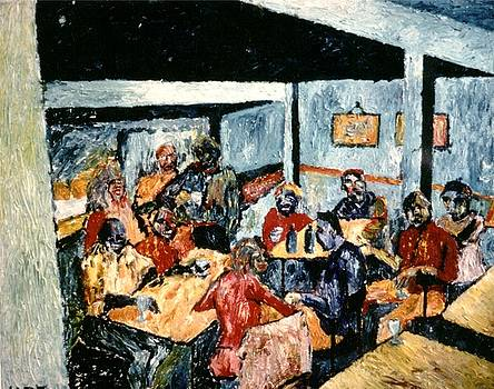 Cafe Ariel Berkeley      Inspired By Van Goch by Udi Peled