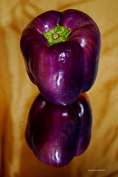 Michelle  BarlondSmith - Cafe Art Series - Purple Pepper