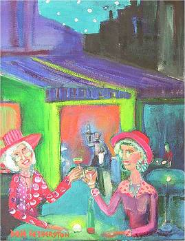 Cafe by Dominic Fetherston