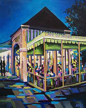 Cafe du Monde by Elaine Adel Cummins