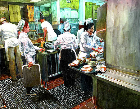 Cafe Du Monde Kitchen by John Boles