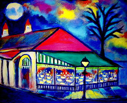 Cafe du Monde by Ted Hebbler