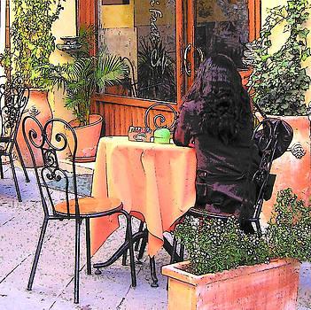 Jan Matson - Cafe in Montepulciano Tuscany