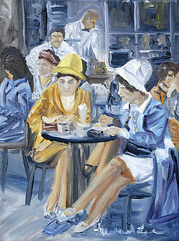Cafe Latte by Michael Lee