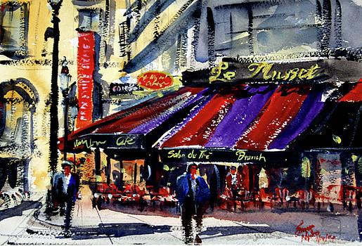 Cafe Le Musset, Paris by James Nyika