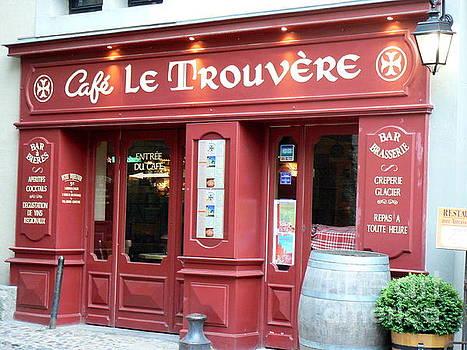 Cafe le Trouvere by France Art