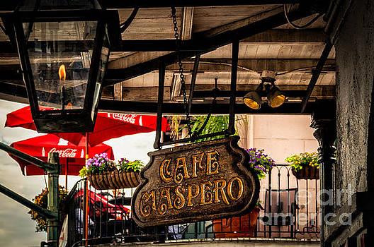 Kathleen K Parker - Cafe Maspero-NOLA