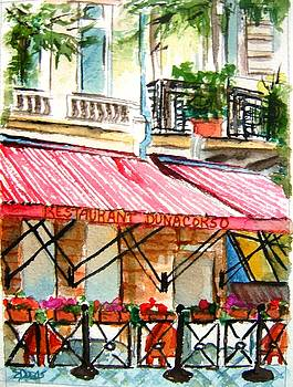 Cafe on the Danube by Elaine Duras