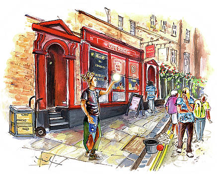 Cafe Rouge In York by Miki De Goodaboom
