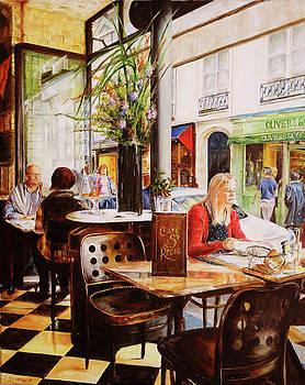 Cafe St. Regis, Paris by Steve James