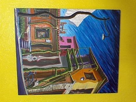 Cafe Terraza by Celestino Hernandez