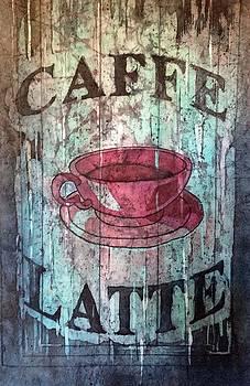 Caffe Latte by Diane Fujimoto