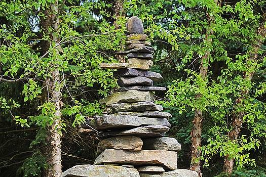 Cairn for a Wilderness Songstress by Michiale Schneider