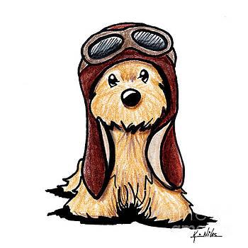 Cairn Terrier Pilot by Kim Niles