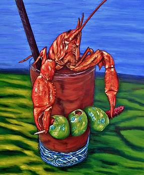 Cajun Cocktail by JoAnn Wheeler