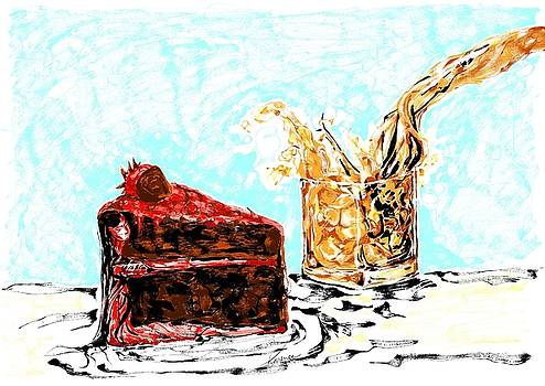 Cake and Whiskey by Karen  Renee