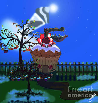 Cake Icing Land by Artist Nandika Dutt