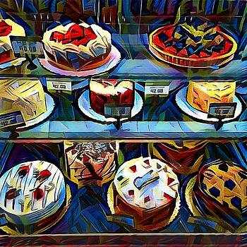 Cakes on Display by Sarah Vandenbusch