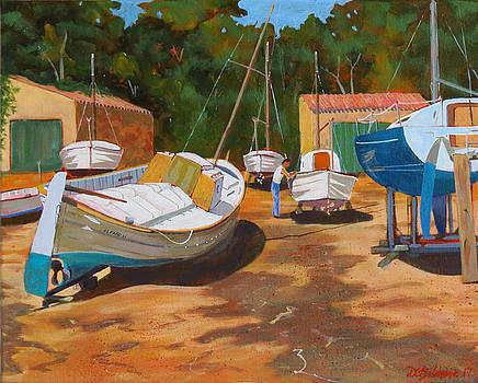 Cala figuera Boatyard - I by David Gilmore