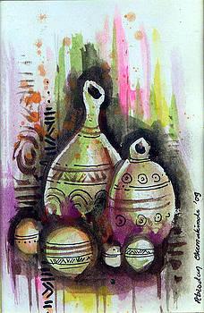 Calabash Decor by Okemakinde John abiodun