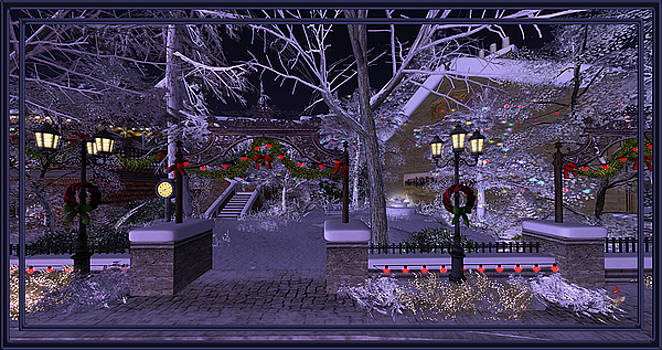 Calas Galadhon Winter by Patricia Whitaker
