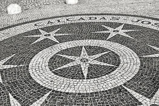 Calcadas Jose da Rosa - Street Paving Mosaic Lisbon by Menega Sabidussi