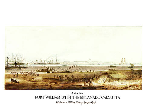 Calcutta in 18th Century by Asok Mukhopadhyay