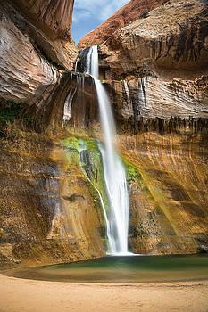 Calf Creek Falls by Whit Richardson