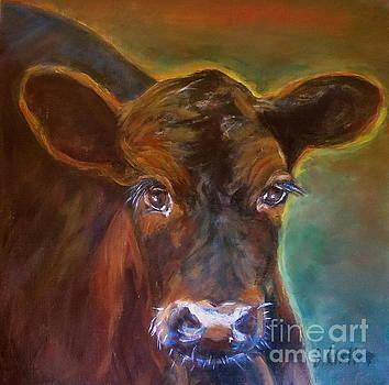 Calf named Bling by Jodie  Scheller
