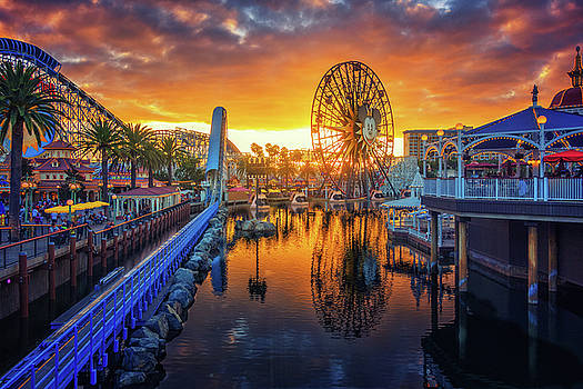 Calfornia Sunset by Jason Butts