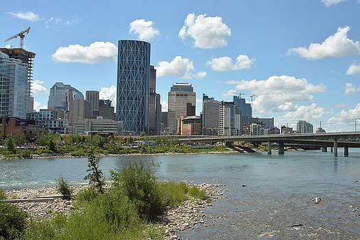 Calgary Bow River by Nicki Bennett