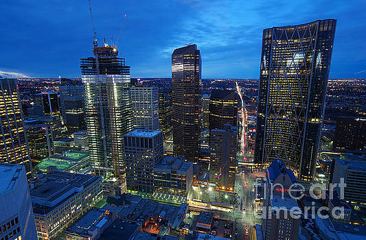 Calgary Close-up by Mohsen Kamalzadeh