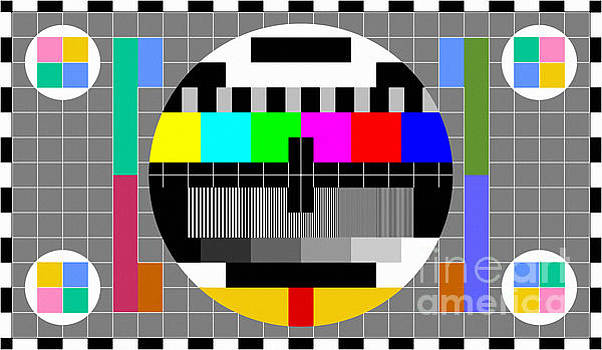 Tina Lavoie - Calibration Test Card, TV monitor film, video geek