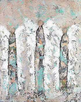 Calico Angel Trio by Kirsten Reed