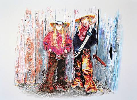 Calico Cowgirls by Traci Goebel