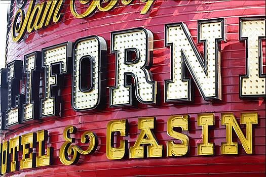 California Casino Las Vegas by Bill Buth