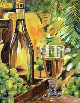 California Chardonnay by David Lloyd Glover